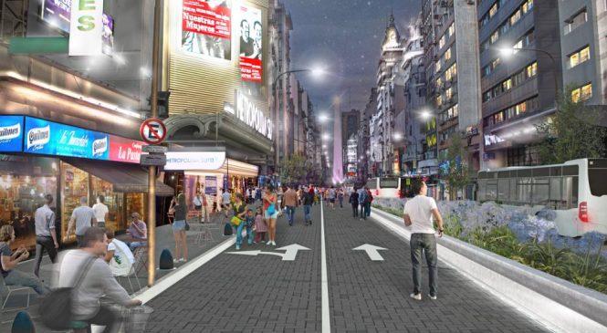 A Avenida Corrientes em Buenos Aires vai virar área de lazer