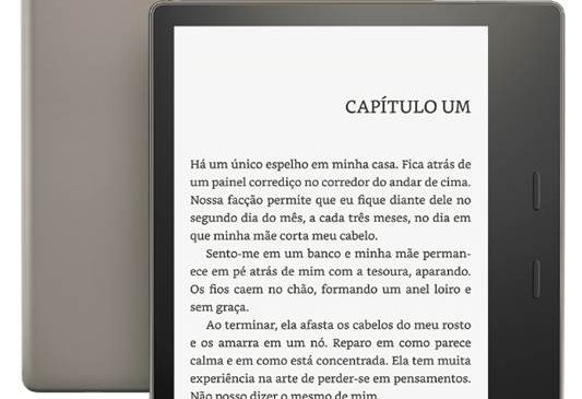 Amazon lança primeiro Kindle à prova d´água