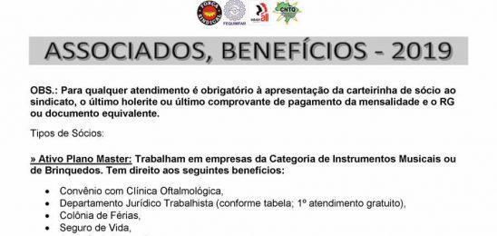 Associados Benefícios 2019