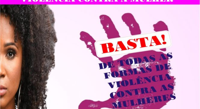 25 de novembro dia Internacional da não Violência Contra a Mulher