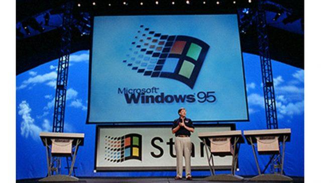 Windows 95 fez 22 anos mas pelo menos sete máquinas usam sistema